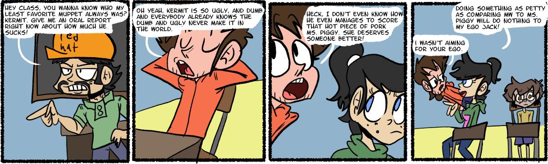 I hate kermit