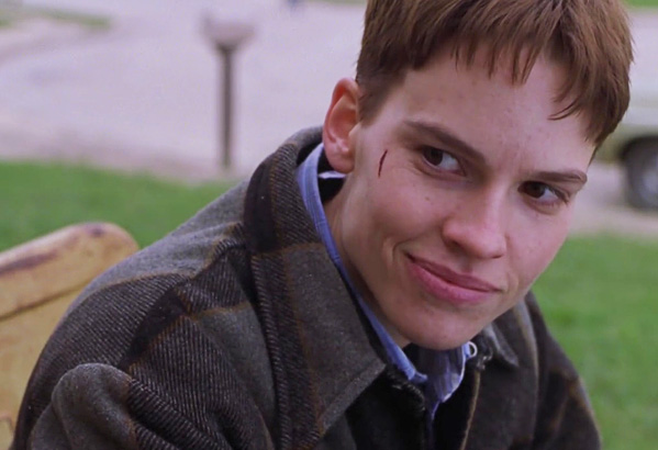 Hilary Swank in Boys Don't Cry