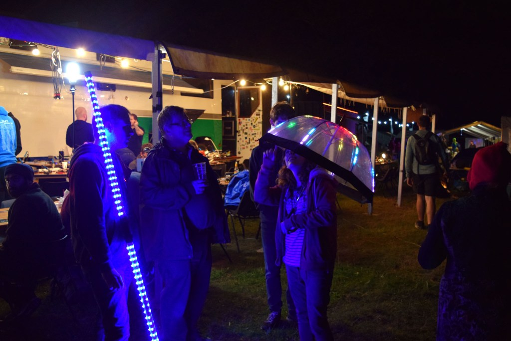 LED projects at EMF