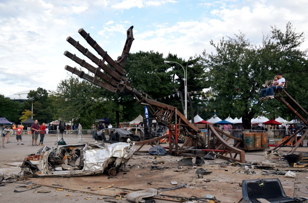 The Hand Of Man at World Maker Faire
