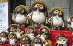 Figuras de tanuki