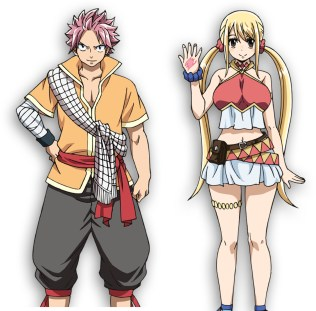 Fairy Tail Dragon Cry: Natsu y Lucy