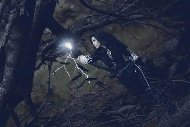 Foto realizada y editada por Phoenix Orange: Yennefer ('The Witcher'), de Sumire Cosplay