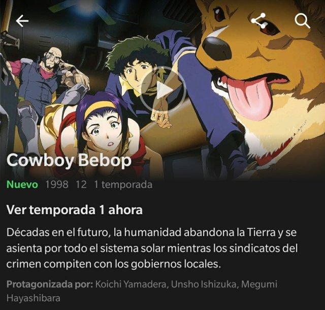 Netflix yCowboy Bebop