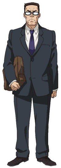 Yasuhiro Mamiya como Profesor
