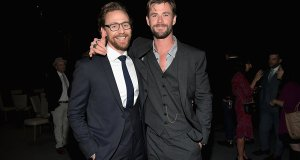 Tom Hiddleston Loki Chris Hemsworth