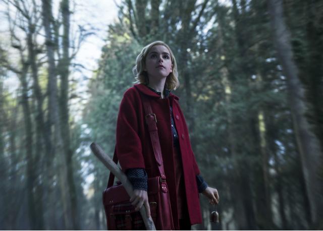Primera fotografía de Sabrina // Netflix