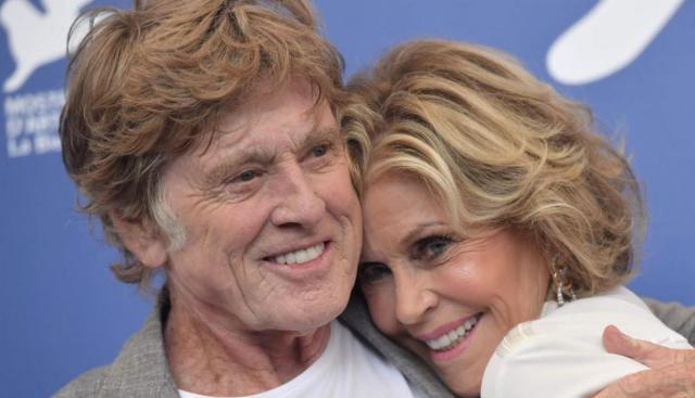 Robert Redford y Jane Fonda // El Comercio Perú