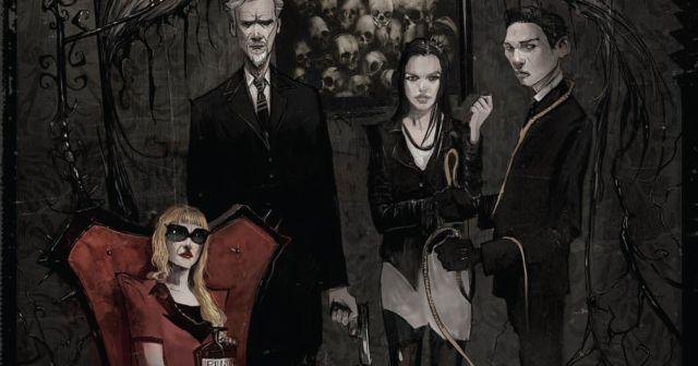 Imagen de uno de los cómics de October Faction la nueva serie de Netflix // USA Today