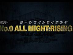 'No.0 ALL MIGHT: RISING' tendrá versión animada
