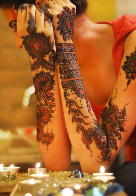 50 Best Mehndi Designs of 2014  Freakifycom