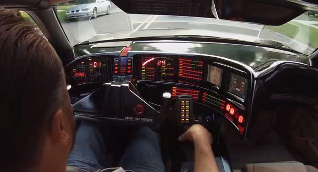 Man spends 3 years building Knight Rider KITT car