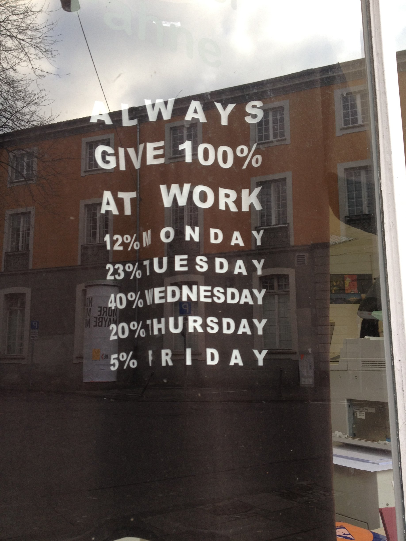 work 12 monday 5