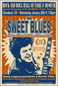 "Poster for ""Sweet Blues: A film about Mike Bloomfield"""