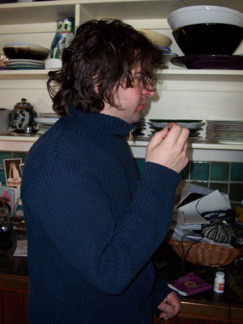 2006 Lou Barlow working on Beyond