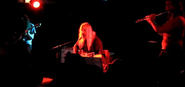 Kurt Vile, J Mascis & Suzanne Thorpe at the Mercury Lounge 3/24