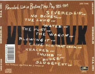 USA 1991 Back