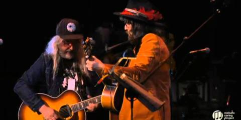 """J Mascis and Sean Lennon """"Quicksand"""" Music of Bowie Night 2 – April 1, 2016"""