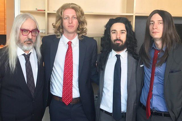 J & the long haired businessmen (Funny or Die)