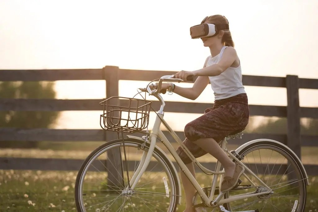 virtual biking