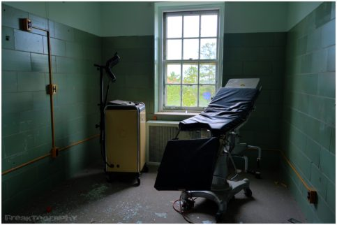 Abandoned Photography of an abandoned hospital