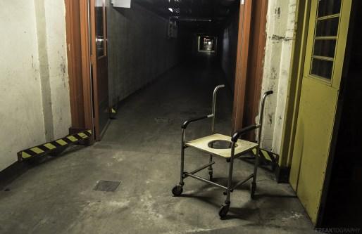Abandoned Psychiatric Tunnels