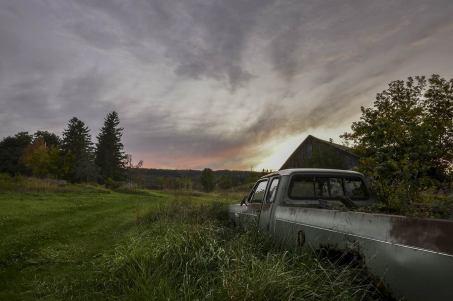 Abandoned Truck.