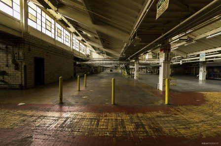 Abandoned Industrial Floor