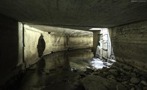 A storm drain in Burlington, Ontario