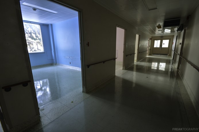 Vacant Hospital Rooms