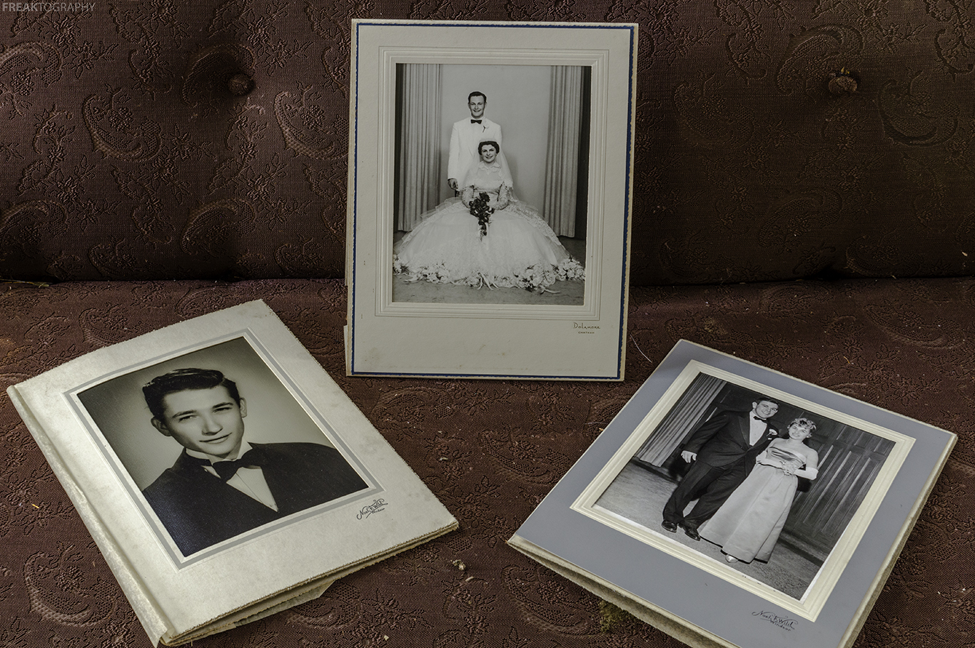 Wedding Photos found well preserved in an abandoned ontario house