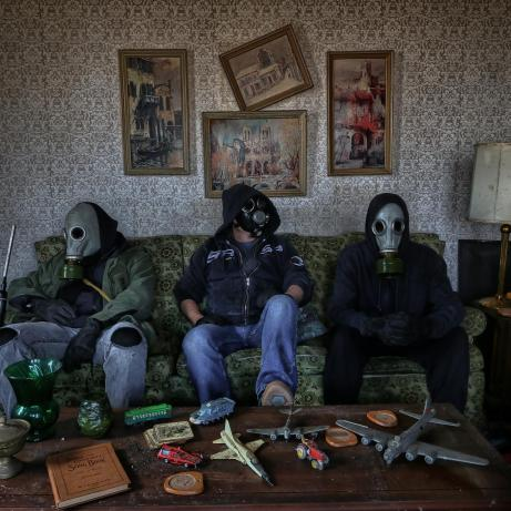A killer group shot taken recently in an abandoned house by Memento Mori Photo Be sure you're following their awesome work at https://www.facebook.com/MementoMoriPhoto/