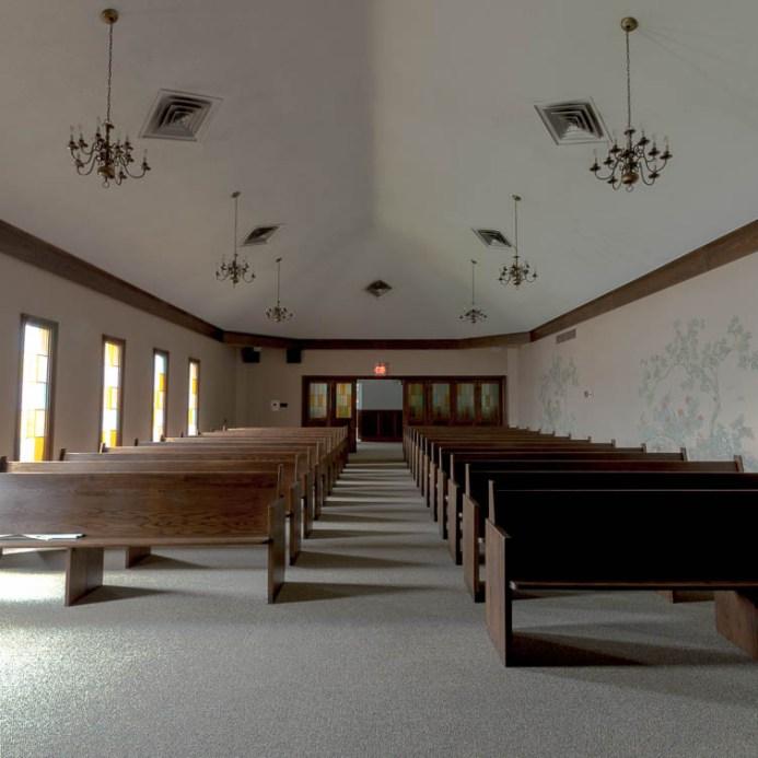 Abandoned Funeral Home Chapel