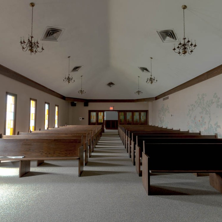 Abandoned Funeral Home Chapel