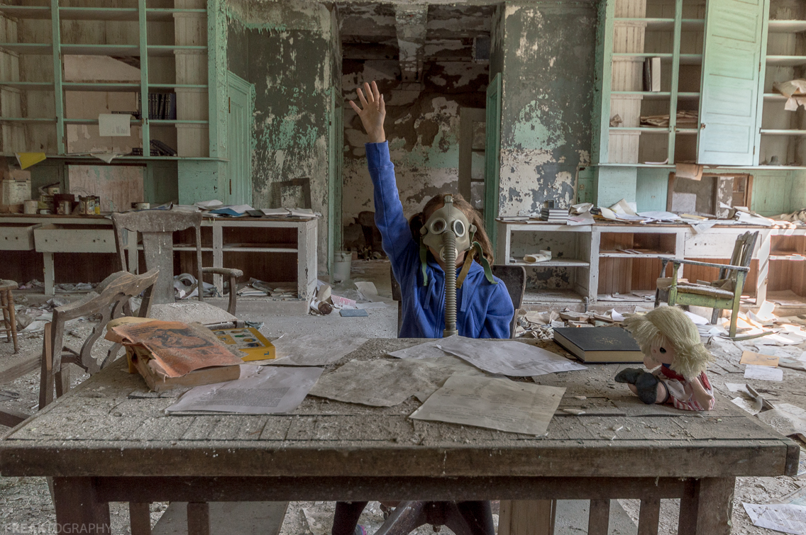 Post apocalypse urban exploring fiction photo