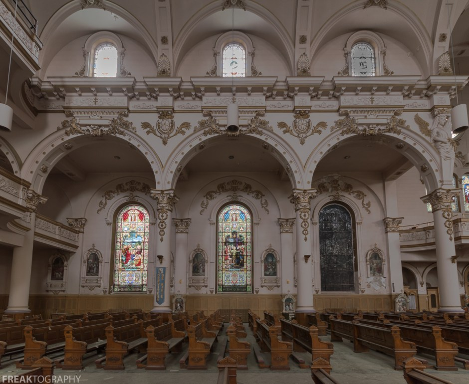 Abandoned Church, Freaktography, abandoned, abandoned cathedral, abandoned photography, abandoned places, cathedral, church, creepy, decay, derelict, haunted, haunted places, photography, religion, urban exploration, urban exploration photography, urban explorer, urban exploring