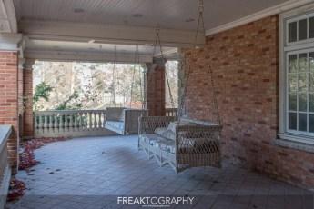 Vacant Abandoned Randwood Estate Niagara on the Lake Ontario