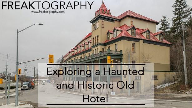 Exploring the Haunted Hotel Preston Springs Hotel