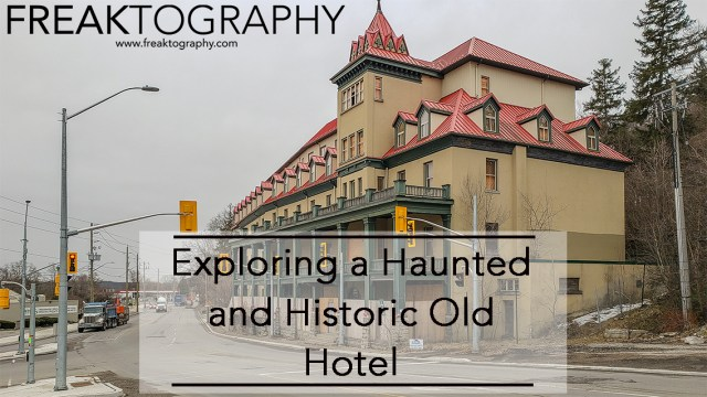 Exploring the Haunted Hotel Preston Springs Hotel