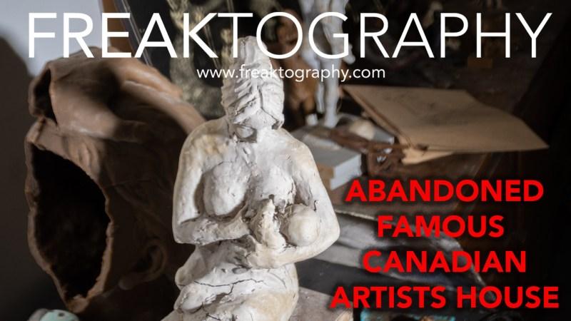 Abandoned Famous Sculpture Artists Mansion