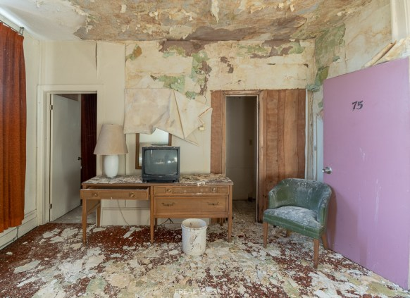 Abandoned Hotel Room Decay