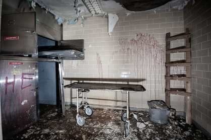 Abandoned Parry Sound Hospital Morgue