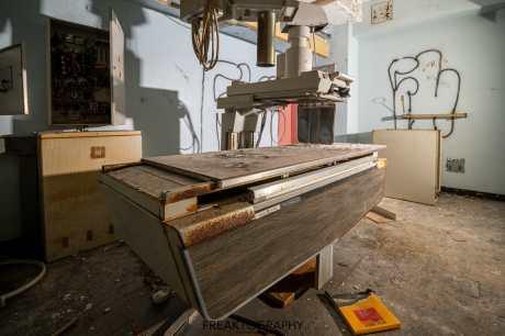 abandoned rochester psychiatric hospital xray room