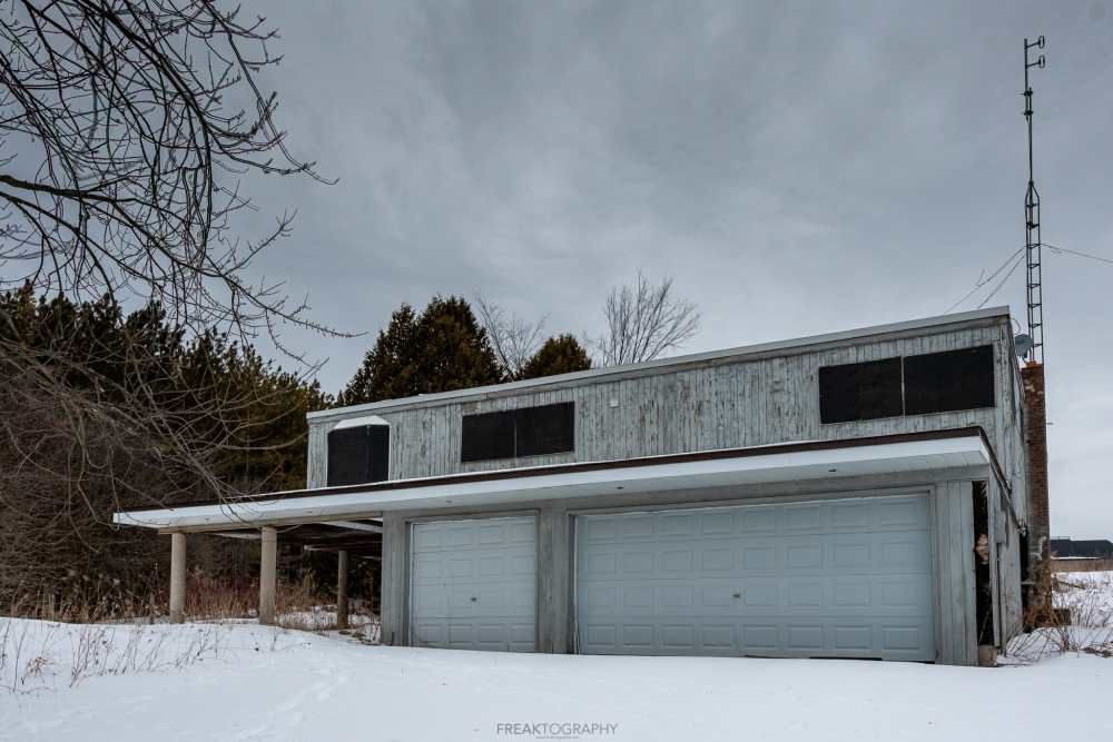 ABANDONED Dealer's 1970s Weird looking House with Indoor Pool & Sauna