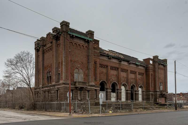 abandoned memorial hall gary indiana