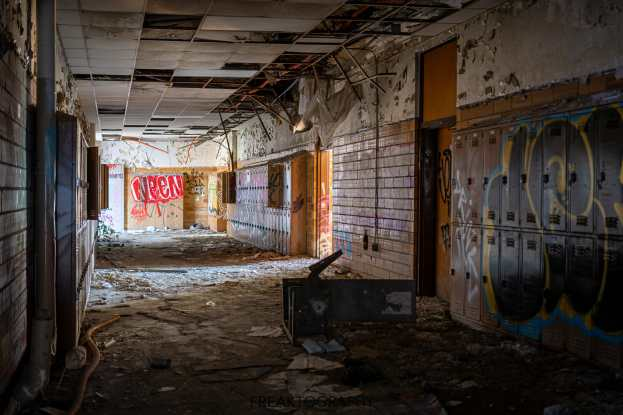 horace mann abandoned high school natural light