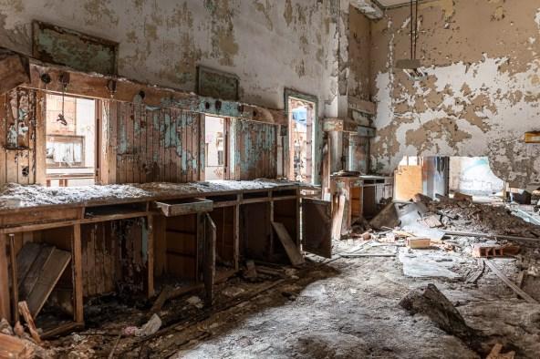 abandoned gary indiana post office urbex