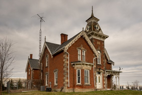 Abandoned High Victorian Mansion 1880