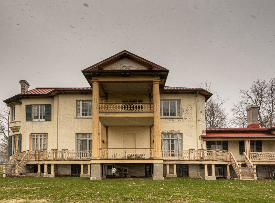Abandoned Heritage Mansion Built 1838