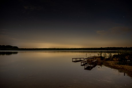 twilight lake ontario canada photography